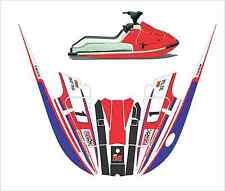 kawasaki 650 x2 650x2  jet ski wrap graphics pwc decals decal kit 1985 1995 psi