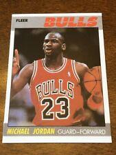 1987 Fleer #59 Michael Jordan Chicago Bulls REPRINT