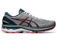 Asics GEL KAYANO 27 Men's 1011A835.021 SHEET ROCK/BLUE Running Shoes (WIDE)