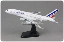 20CM Solid AIR FRANCE AIRBUS A380 Passenger Airplane Plane Metal Diecast Model