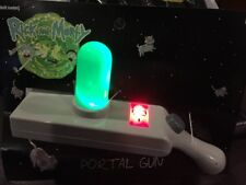New Rick And Morty Portal Gun Costume Lights & Sounds Cosplay IN HAND
