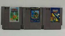 Lot Of 3 NES games: Ikari Warriors, Commando, And Bionic Commando Tested!