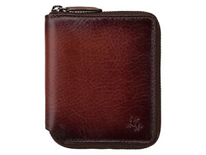 Visconti Mens Atelier Range RFID Blocking Zip Around Leather Wallet - AT65