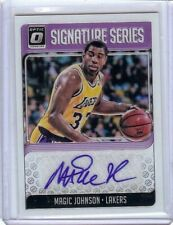 Magic Johnson 2018-19 Donruss Optic Signature Series Auto B LA Lakers #SG-MJS