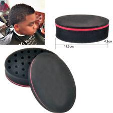 2*Foam Hair Brush Sponge Comb Pattern Dreadlock Coils Afro Braid New