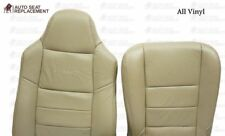 2002 To 2007 Ford F250 F350 Lariat Driver Bottom-Top-Backrest Seat Cover TAN