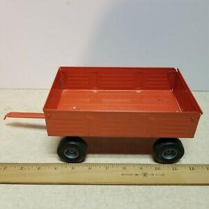 Toy Ertl 1/16 Caseih or Allis Chalmers Orange Barge wagon