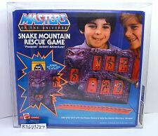 MOTU, Snake Mountain Rescue Game, AFA Graded, Masters of the Universe, MISB, box