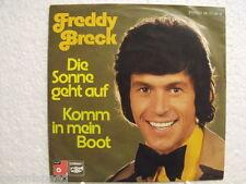 "★★ 7"" - FREDDY BRECK - Die Sonne Geht Auf - BASF Cornet 1974"