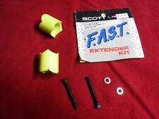 Scott Aero Bars Fast Extender Kit Neon Yellow Tt Triathlon to raise arm rests