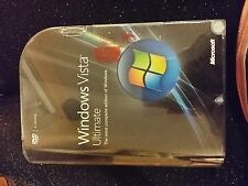 NEW Microsoft Windows VistA Ultimate 32+64 bit Retail Full Version
