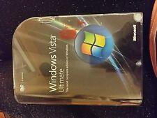 NEW Microsoft Windows VistA Ultimate 32+64 bit Retail Full Version