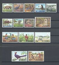 More details for zambia 1975 sg 226/39 mnh cat £17
