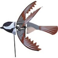Flying Chickadee Staked Wind Spinner with Pole & Ground Mount.27. Pr 25124