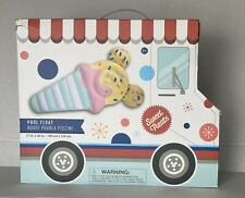 Disney Mickey Mouse Summer Fun Ice Cream Cone Pool Float New In Box