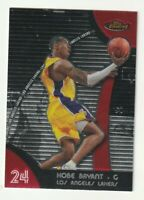 2007-08 Topps Finest Kobe Bryant #24 Los Angeles Lakers Base Card