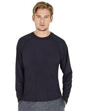 Sport T-Shirt Herren Funktonsshirt Langarm Shirt Atmungsaktiv S - 2XL Starworld
