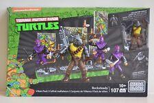Mega Bloks  Teenage Mutant Ninja Turtles   ROCKSTEADY  Villain Pack      DMW28