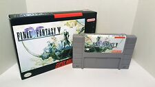 Final Fantasy V 5 - English SNES Translation NTSC - FF Role Playing RPG