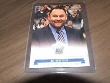 2017 Upper Deck Maple Leaf Centennial hall of fame ed belfour #168