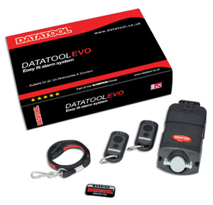DATATOOL  Evo- Compact Self-Fit Alarm - 12V Motorcycle or Scooter