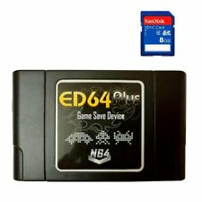Cartouche EverDrive Nintendo 64 N64 ED64 Plus + SD 8GO 346 jeux region free