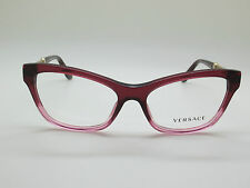 c63a311fe9 NEW Authentic VERSACE Mod. 3214 5151 Burgundy Pink 54mm RX Eyeglasses