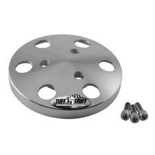 Tuff Stuff A/C Compressor Clutch Dust Cover 8490C; Satin Aluminum for SD508