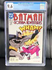 Batman Gotham Adventures 37 CGC 9.6 (1998 DC Comics) Joker and Penguin, NM+ Wow!