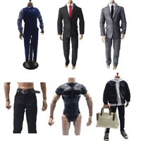 """1/6 Scale Suit Pants Clothing Set for Phicen Hot Toys BBI 12"""" Male Action Figure"""