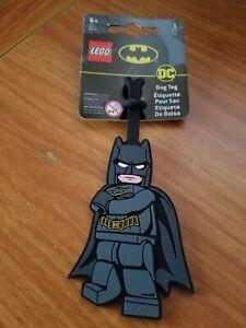 LEGO DC BATMAN LUGGAGE BAG TAG