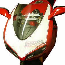 DUCATI 1098 1198 - Tabella adesiva anteriore 1 colore - racing decals