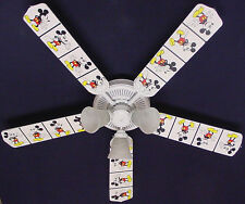 New MICKEY MOUSE Disney Ceiling Fan 52""