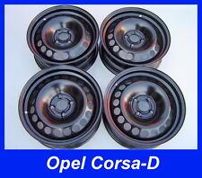4 Stahlfelgen Felgen Opel Corsa-D , Opel Adam  6Jx15 ET39  Neu! 6445