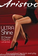 Aristoc 10 Denier Ultra Shine Tights Bare Gold Medium