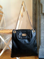 Chanel perforated leather drill shoulder bag