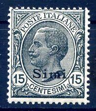 ISOLE EGEO  SIMI   1921 -  Centesimi  15  NUOVO **