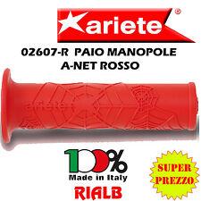 """Coppia / Paio Manopole A-NET ROSSO """" ORIGINALI ARIETE """"  02607-R MIGLIOR PREZZO!"""