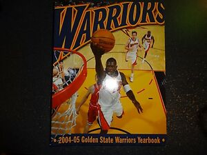 2004-05 Golden State Warriors Official Yearbook NBA Before Stephon Curry