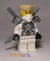 Lego Zane Minifigure from set 70728 Ninjago NEW njo106