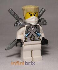 Lego Zane + Shoulder Armour from set 70728 Battle for Ninjago City Ninja njo106
