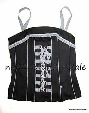 TRIPP NYC TORRID CORSET PLUS Size 0 0X 12 Sexy Black Gingham Plaid Lace Up NEW