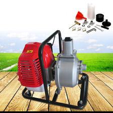 2-Stroke Water Transfer Pump 43Cc Air-cooled Engine 7000rmp Garden Irrigation Us