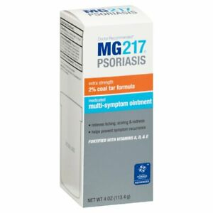 MG-217 Multi-symptom Ointment for Psoriasis Coal Tar Formula 4 oz EXP:1/2023