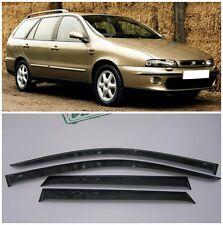 For Fiat Marea Weekend 1996-2003 Window Visors Side Rain Guard Vent Deflectors