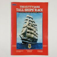 Cutty Sark Tall Ships Race Program 1984