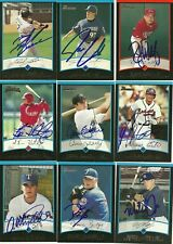 2001 Bowman AARON MYETTE Signed Card autograph RANGERS #1 PICK BC CANADA