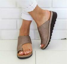 Womens Comfy Sandals Shoes - PU LEATHER - Bunion Corrector Fashion Shoes HOT'