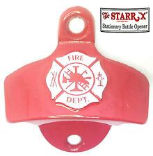 Fire Department Feuerwehr Wand-Flaschenöffner orig. USA STARR X Sammleredition