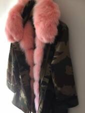 Mr & Mrs Lady Parka Souple Flexi Manteau UK marque FOX 14/16 Extra Large Fourrure Capuche